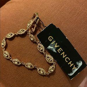 Givenchy bracelet with Swarovski crystals